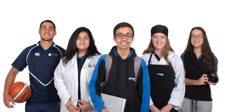 Gungahlin College students