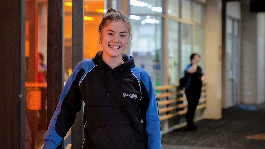 Student at Gungahlin COllege