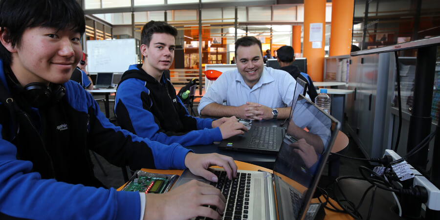 students at Gungahlin College
